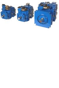 Poclain Piston pumps closed circuit